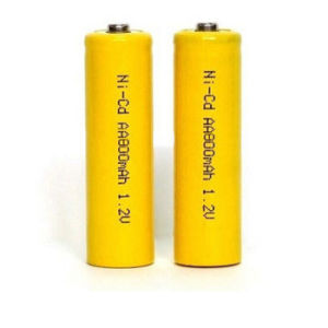 High Power 800mAh 1.2V NiCd Rechargeable Battery on Discount pictures & photos