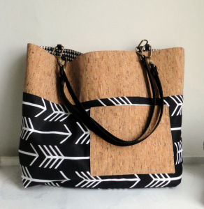 Arrow Tote, Black Travel Tote Bag (BDMC117) pictures & photos