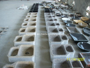 SGS Audited Polished Granite/Marble Kitchen Sink pictures & photos