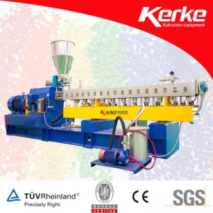 Parallel Twin Screw Extruder for Plastic Granules pictures & photos