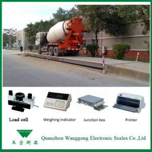 Scs100 Ton Electronic Truck Scale Price pictures & photos