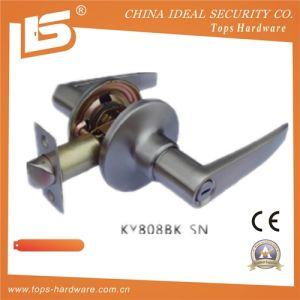 Door Tubular Door Cylindrical Lockset Ky 8088 Bk Sn pictures & photos