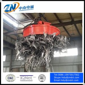 Circular Lifting Magnet for High Temperature Steel Scraps MW5-120L/2 pictures & photos