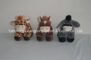 Plush Standing Soft Horse with Beans pictures & photos