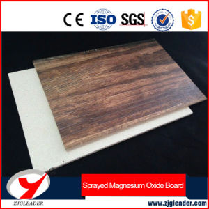 Modern Decoration Fireproof Printed Magnesium Oxide Board pictures & photos
