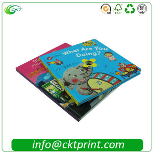 Professional Softcover and Hardcover Book Printing with Offset Paper (CKT-BK-333)