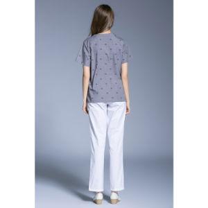 Unisex Scrubs Top &Bottom Medical Nursing Uniform of Cotton pictures & photos
