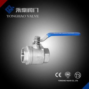 2PC Stainless Steel Ball Valve pictures & photos