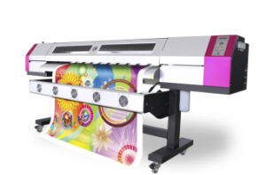 Large Format 1.8m Sticker Printing Machine with Original Dx5 Head 1440dpi Indoor & Outdoor Eco Solvent Printer pictures & photos