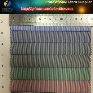 2017 New T/C Stripe Shirting Fabric, Plain Yarn Dyed Fabric for Dress Shirt/Business Shirt pictures & photos