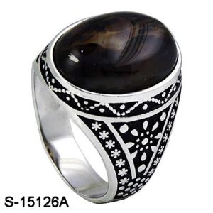 925 Sterling Silver Ring for Man Factory Wholesale pictures & photos