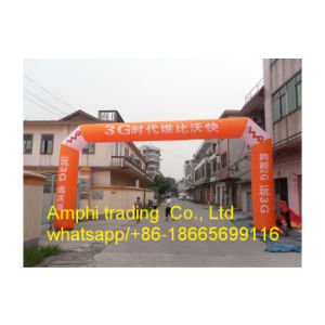 Outdoor Rainbow Colorful Advertising Inflatable Printed Air Arch Archdoor pictures & photos