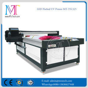 UV Flatbed Printer 2.5m*1.3m with LED UV 2PCS Epson Dx5 Head 1440DPI pictures & photos