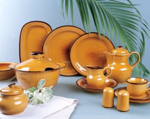 South Africa Style Stoneware Dinner Set pictures & photos