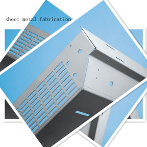 Custom Sheet Metal Control Panel Enclosure (GL026) pictures & photos