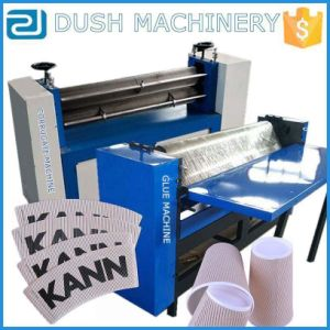 Single Face Glue Machine+Corruagted Machine for Ripple Paper