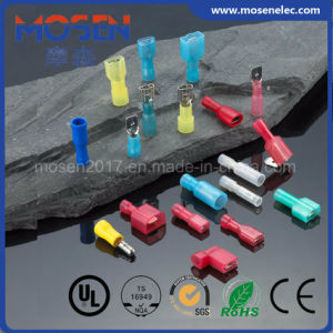 Mdynd Nylon Male Double Crimp Insulation Quick Disconnector Terminal pictures & photos
