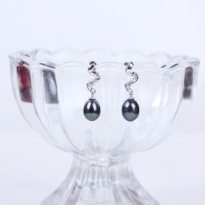Drop Shape Freshwater Pearl Earring pictures & photos