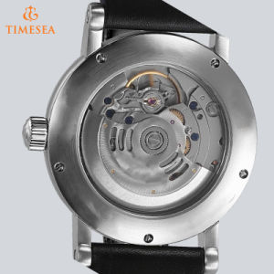 Stainless Steel Automatic Business Men Wrist Watch Luxury Brand Steel Clock Watch72155 pictures & photos