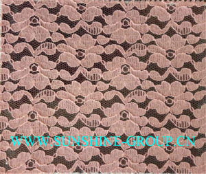 Beautiful Design Jacquard Lace Fabric for Garment pictures & photos