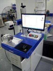 Table Shape20 W Fiber Laser Marking Machine pictures & photos