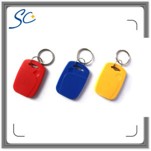 Logo Printing ABS Material Tk4100 RFID Keyfob Tag pictures & photos
