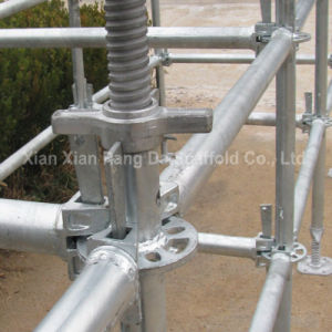 Hot Dipped Galvanized Scaffolding System Ring Lock Scaffolding for Sale pictures & photos
