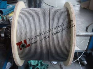 AISI316 7X7 Stainless Wire Rope pictures & photos