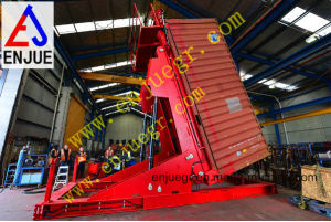 Hydraulic Telescopic Container Tilter for Both 20feet & 40 Feet Container pictures & photos