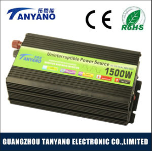 Higher Quality 1500W Modified Sine Wave Inverter with Charge pictures & photos