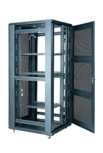Network Cable Double Section Wall Mounted Cabinet with Good Quality From China Factory pictures & photos