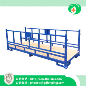 Foldable Metal Stacking Rack for Transportation by Forkfit pictures & photos