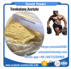 Dark Yellow Steroid Powder Trenbolone Acetate (Finaplix H/Revalor-H) for Fat Loss Musle Gain pictures & photos