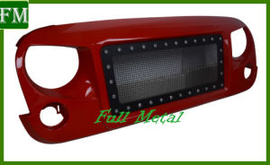 Front Grill Without The Light Bar From 2007+ for Jeep Wrangler pictures & photos