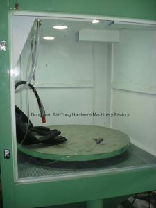 Manual Dry Wet Mould Jig Sandblasting Machine pictures & photos