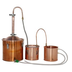 Luxury Alembic Still Column Alcohol Ethanol Distillation Equipment with Thumper Keg pictures & photos