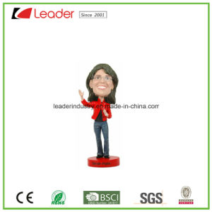 Polyresin Hand-Painted Customized Bobblehead Figurine for Home Decoration pictures & photos