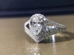 Fashion 925 Silver Jewelry with Drop Cut Cubic Zircon pictures & photos