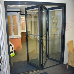 Australian Standard Aluminum Accordion/Bifolding Door (BHA-DBF03) pictures & photos