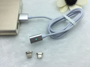 Magnetic USB Phone Cable Magnet 8pin Lightning Data Cable pictures & photos