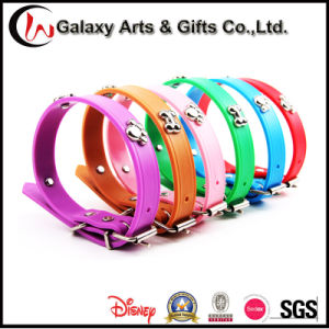 New Premium Pet Supply Custom Personalized Decorative Silicone Dog Collar pictures & photos