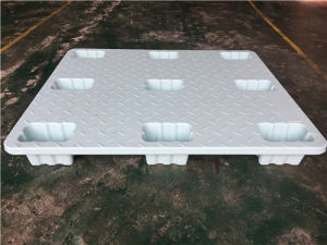 Higher Loading Cargo Pallet with Nine Feet Four Side Can Be Into The Forklift of Plastic Pallet pictures & photos