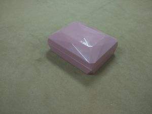 Pink High Gloss LED Jewelry/Necklace Plastic Box pictures & photos