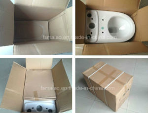 Australian Standard Washdown Two Piece Project Toilet Sanitary Ware (8004) pictures & photos