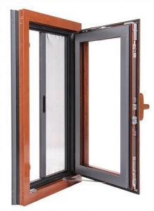 Elegant Aluminum Clad Wood Windows with Energy Saving / German Hardware pictures & photos