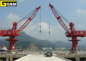 16t GBM Full-Rotating Jetty/Port Crane pictures & photos