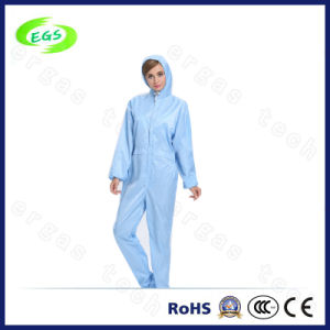 ESD Cleanroom Coverall with Hood pictures & photos