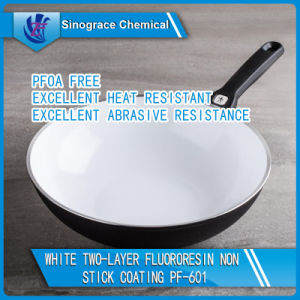 White Fluororesin Non-Stick Cookware Coating pictures & photos