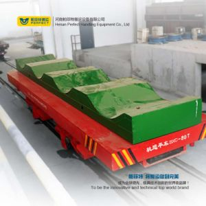 Remote Control Motorized Handling Trolley Coil and Roller Cart pictures & photos