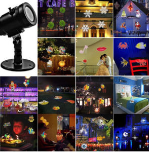 Xmas Multicolor Waterproof Multi Party 14 Slides Pattern Projector Lights pictures & photos